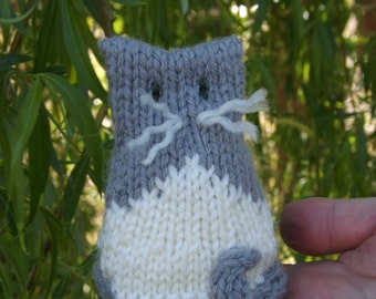 Pattern - a cat called India - knitting pattern for intermediate knitters