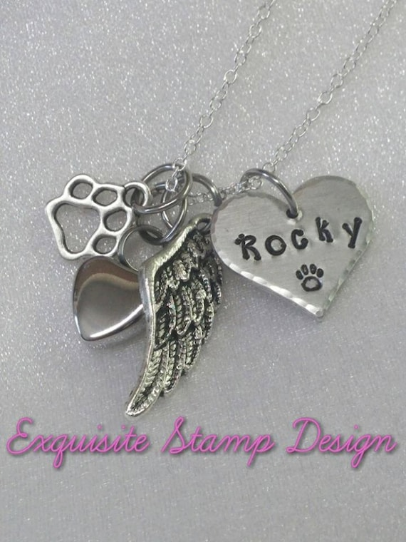 Pet Cremation Urn Necklace - Pet Memorial - Pet Urn - Pet Loss Gifts - Pet Memorial Jewelry - Dog Loss - Cat Loss - Pet Remembrance Jewelry