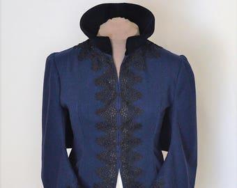 Steampunk Victorian Mantle Coat, Mantel Coat, Bustle Coat