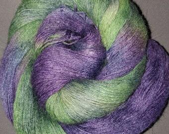 "400 meters - ""Riddler"" - alpaca/linen/silk yarn - fingering weight"