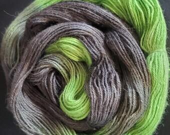 """70/30 Alpaca/Silk yarn - """"Envy"""" - fingering weight - 400 meters"""