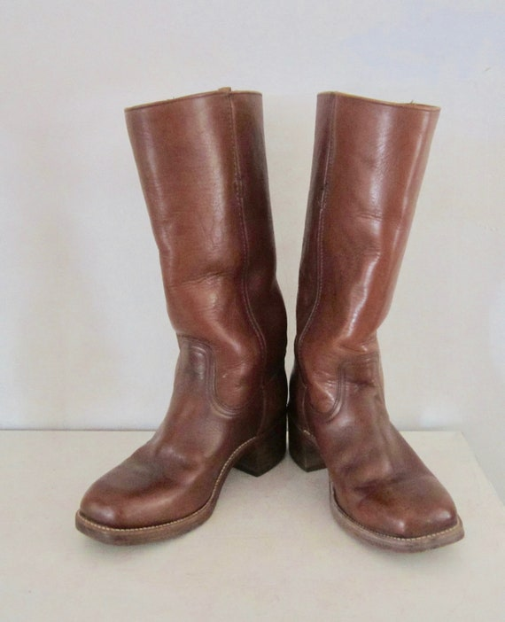 Vintage FRYE Boots Campus Boots Original Brown Fry