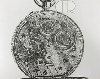 Pocket Watch (print)
