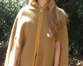 Wool Poncho Cape Perfect for Winter Warmth