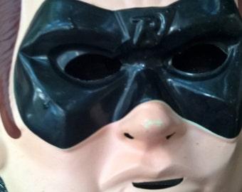 Robin Batman Face Mask Vintage Halloween Costume Fun