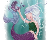 Miss Mermaid and Mr Fishy...