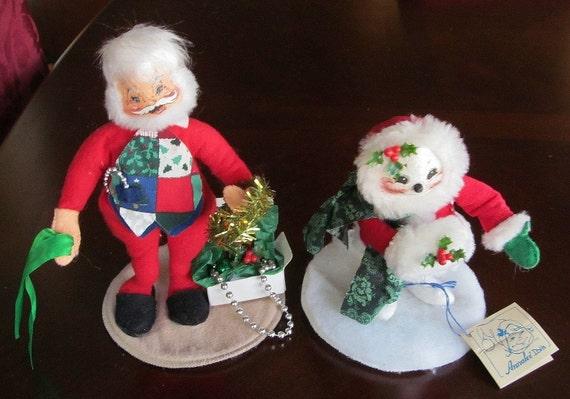1994 und 1997 Annalee Santa Claus TRIM Zeit Mrs Santa Claus | Etsy