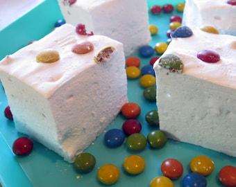 M&M's Marshmallows  - 1 dozen Gourmet homemade marshmallows