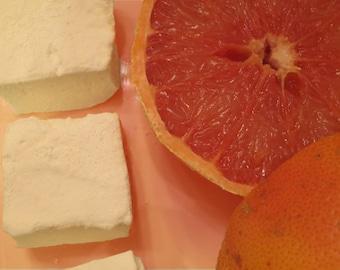 Grapefruit Marshmallows - 1 dozen Gourmet homemade marshmallows