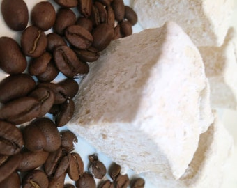 Coffee Marshmallows  - 1 dozen Gourmet homemade marshmallows