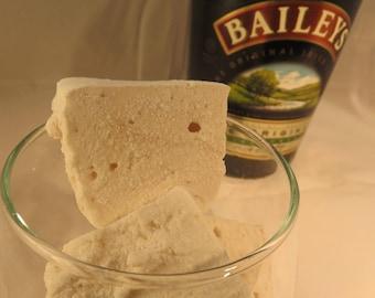 Bailey's Irish Cream Marshmallows  - 1 dozen Gourmet homemade marshmallows - St. Patrick's Day