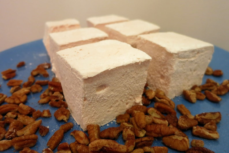 Butter Pecan Marshmallows  1 dozen Gourmet homemade image 0