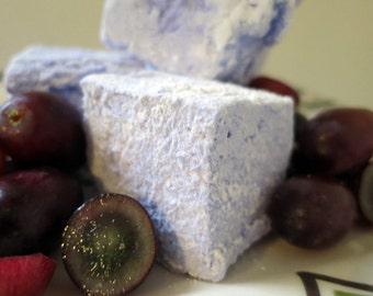 Grape Marshmallows - 1 dozen Gourmet homemade marshmallows