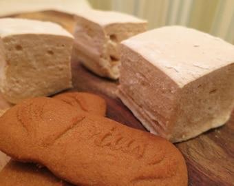 Biscoff Marshmallows  - Speculoos - 1 dozen Gourmet homemade marshmallows