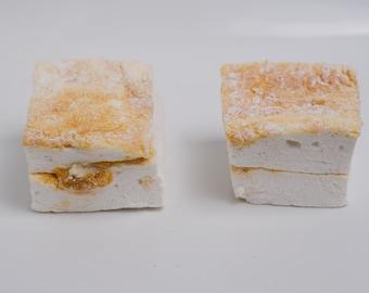 Dulce de Leche Marshmallows - 1 dozen Gourmet homemade marshmallows