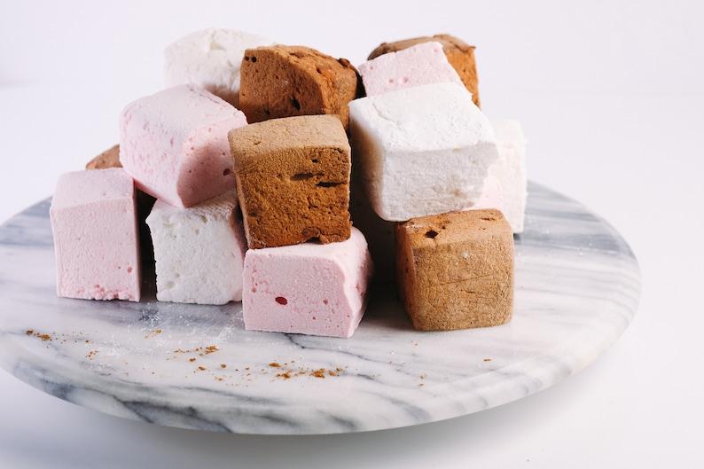 Neapolitan Marshmallow Collection  vanilla chocolate & image 0