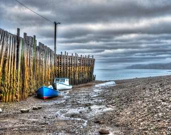Bay of Fundy at Low Tide