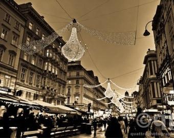 Vienna at Christmas time