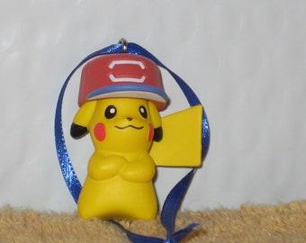 Pokemon Pikachu Figurine Christmas Ornament