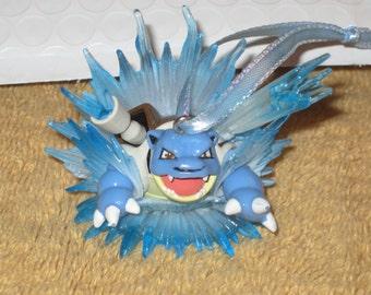 Pokemon Blastoise Figurine Christmas Ornament