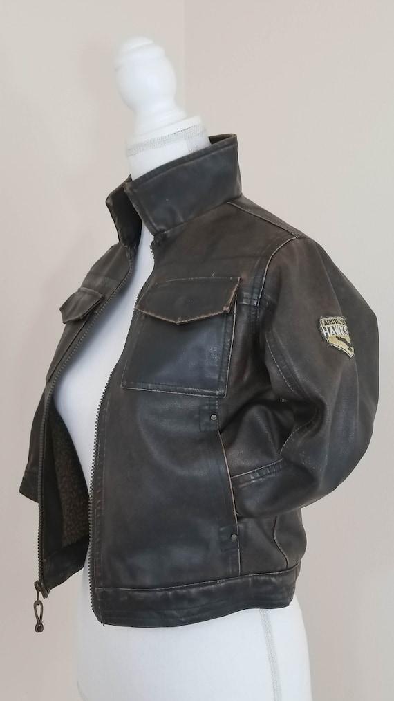50s // Coronado vegan leather jacket