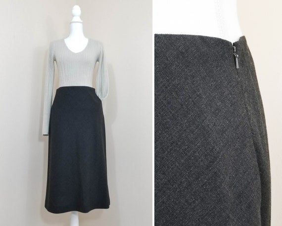 90s // Ralph Lauren wool skirt