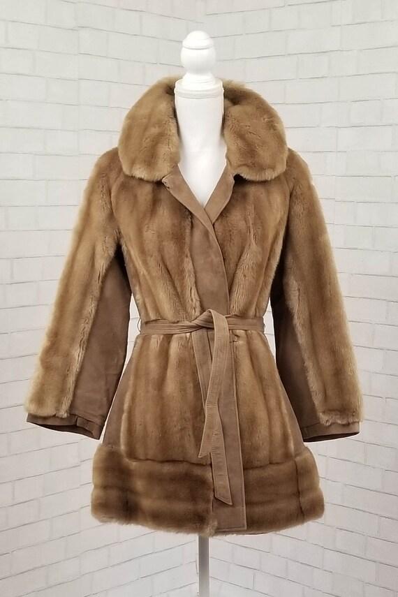 60s // Lilli Ann faux fur coat