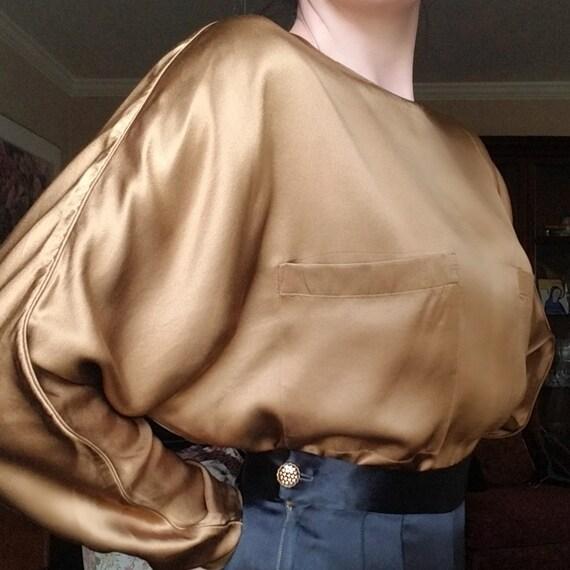 40s // Satin trouser
