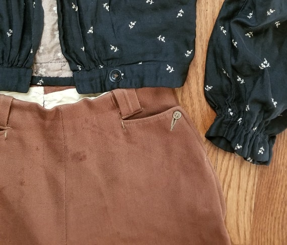 50s // Rare western trouser