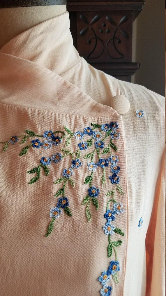 40s // Petunia blouse