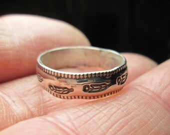 rings, various sizes... sterling silver