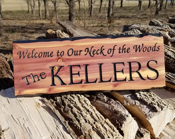 Custom Outdoor Name Signs Custom Wooden House Signs Custom Wood Signs Custom Wooden House Signs Personalized Wooden Signs Cedar Sign 344