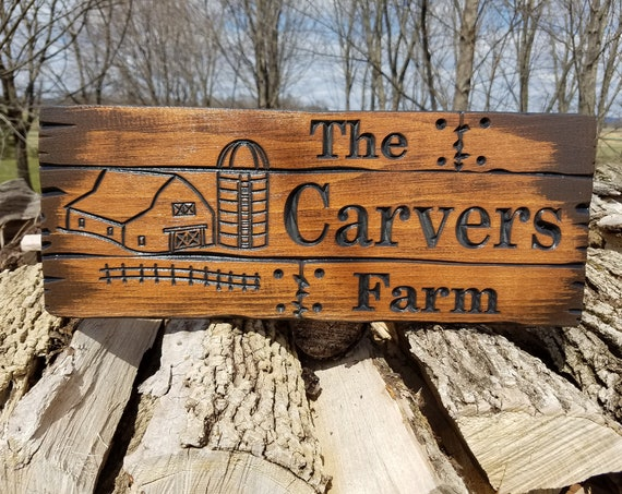 Farm Sign Rustic Custom Wood Signs Wooden Barn Wood Personalized Cabin Sign Gift Wood Welcome Signs Last Name Sign Wood Sign Pine 768