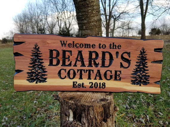 Custom Outdoor House Signs Custom Wooden House Signs Custom Wood Signs Custom Wooden House Signs Personalized Wooden Signs Cedar 338