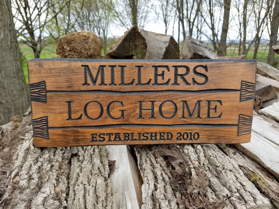 Rustic Custom Wood Signs Barn Wood Style Rustic Personalized Carved Wedding Gift Anniversary Housewarming farmhouse decor Sign Pine 349