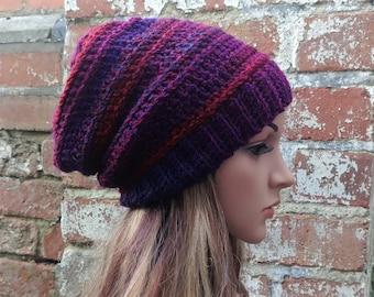 c1e1380d792 Colorful crochet beanie