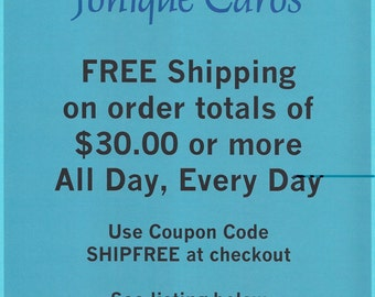 FREE Shipping Coupon Code - All Day Every Day
