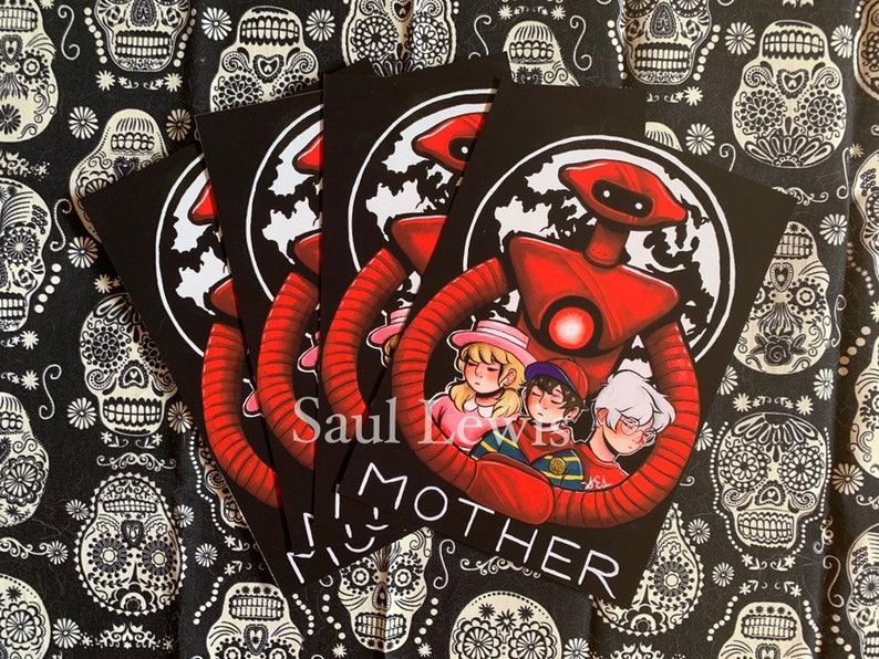 MOTHER~ Earthbound Zero/Mother Prints