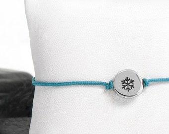 Winter Bracelet, Charm Bracelet, Winter Jewelry, Christmas Bracelet, Snowflake, Christmas Gift, Snowflake Jewelry, Christmas Jewelry