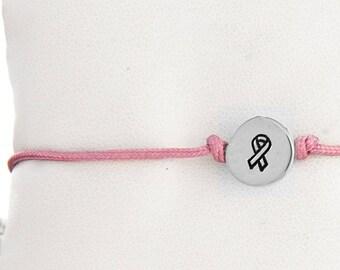 Awareness Ribbon Friendship Bracelet