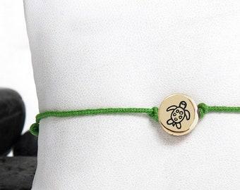 Sea Turtle Friendship Bracelet