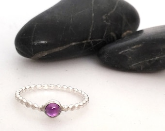 Gemstone Solitare Ring