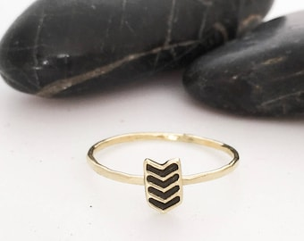 Chevron Ring, Chevron Jewelry, Chevron, Stacking Ring, V Ring, Minimalist Ring, Gold Chevron Ring, V Shaped Ring, Stacking Rings, Midi Ring