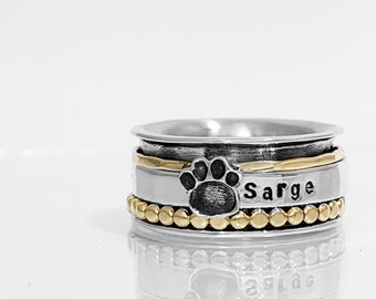 Puppy Dog Spinner Ring.