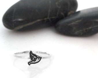 Charm Ring, Stacking Ring, Sterling Silver, Dainty Ring, Stacking Rings, Sterling Silver Ring, Stackable Rings, Gift For Her, Silver