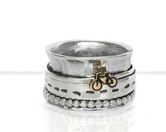 Bicycle Spinner Ring