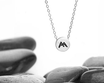 Mountain Jewelry, Nature Jewelry, Mountains, Mountain Necklace, Mountain Range, Mountains are Callin, Mountain Pendant, Mountain