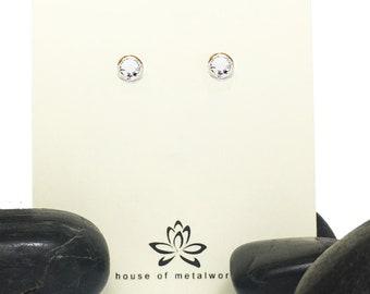 Swarovski Diamond Stud Earrings