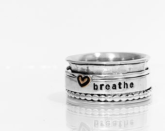Breathe Spinner Ring