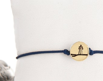 small Lighthouse friendship bracelet